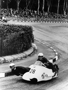 Bmw Motorbike and Sidecar Combination, 1957