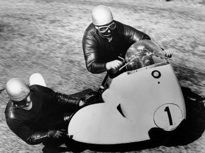 Bmw Motorbike and Sidecar Combination, 1958