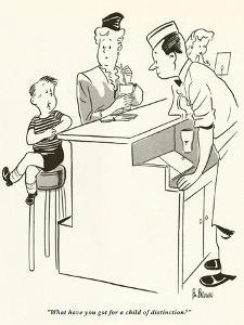 Gourmet - May, 1949 by BO Brown