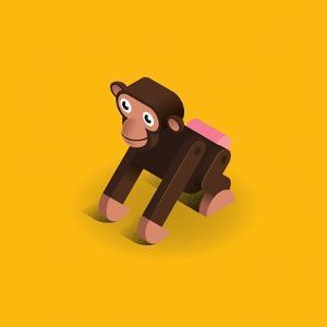 Monkey by Bo Virkelyst Jensen