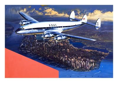 Boac Plane, from 'speed and Power'-Wilf Hardy-Giclee Print