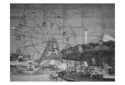 Boadwalk View-Sheldon Lewis-Art Print