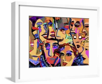 Board Meeting-Diana Ong-Framed Giclee Print