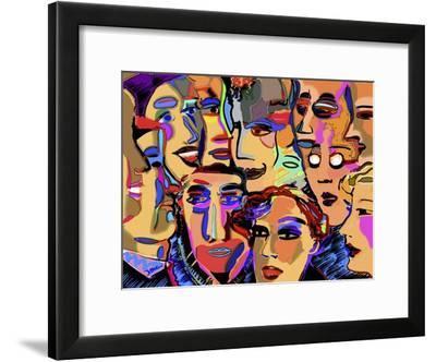 Board Meeting-Diana Ong-Framed Giclee Print