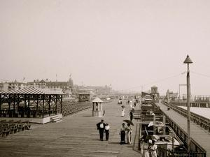 Board Walk, Asbury Park, N.J.