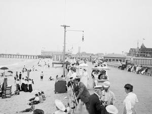 Board Walk Beach, Asbury Park, N.J.