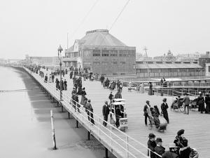 Board Walk Near the Casino, Atlantic City, N.J.