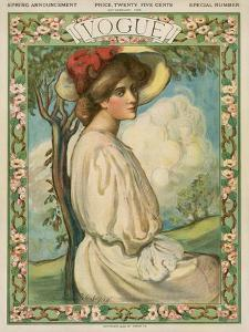 Vogue Cover - February 1906 by Boardman Robinson