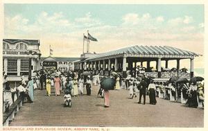 Boardwalk and Esplanade, Asbury Park, New Jersey