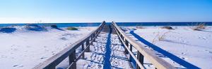 Boardwalk at Santa Rosa Island Near Pensacola, Florida