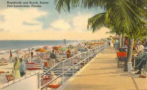 Boardwalk, Ft. Lauderdale, Florida
