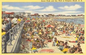 Boardwalk, Hampton Beach, New Hampshire