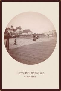 Boardwalk, Hotel del Coronado, California