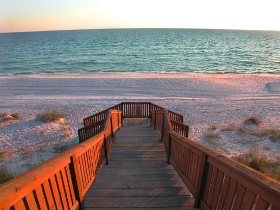 Boardwalk Leading to Shore-Pat Canova-Photographic Print