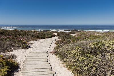 Boardwalk Leading towards the Beach-Eric Audras-Photographic Print