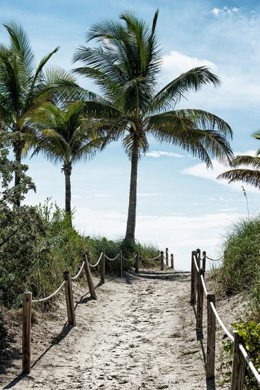 Boardwalk - Miami Beach - Florida - USA-Philippe Hugonnard-Photographic Print