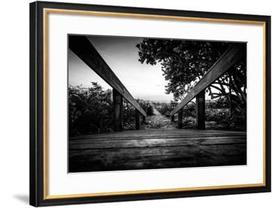 Boardwalk on the Beach at Sunset - Florida-Philippe Hugonnard-Framed Photographic Print