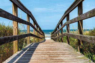 Boardwalk on the Beach - Florida - United States-Philippe Hugonnard-Photographic Print