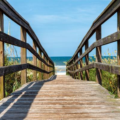 Boardwalk on the Beach - Florida - United States-Philippe Hugonnard-Photographic Print