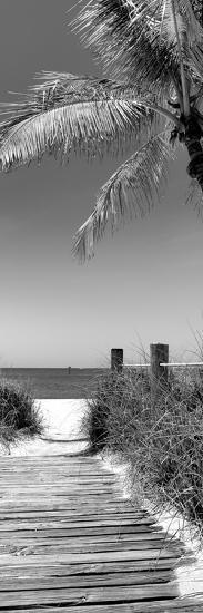 Boardwalk on the Beach - Florida-Philippe Hugonnard-Photographic Print