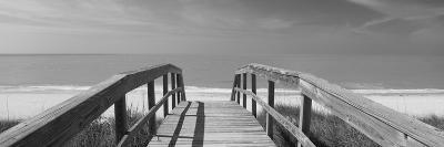 Boardwalk on the Beach, Gasparilla Island, Florida, USA--Photographic Print