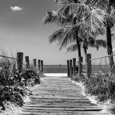 Boardwalk On The Beach Key West Florida Photographic Print By