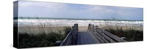 Boardwalk on the Beach, Nokomis, Sarasota County, Florida, USA
