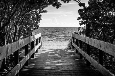 Boardwalk on the Beach-Philippe Hugonnard-Photographic Print