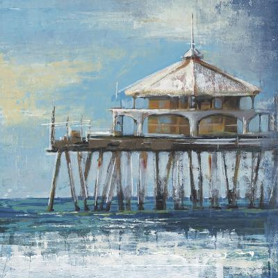 Boardwalk Pier-Liz Jardine-Art Print