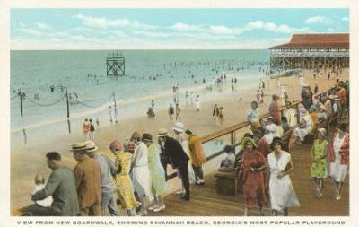 Boardwalk, Savannah Beach, Georgia