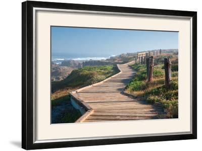 Boardwalk-Dennis Frates-Framed Photographic Print