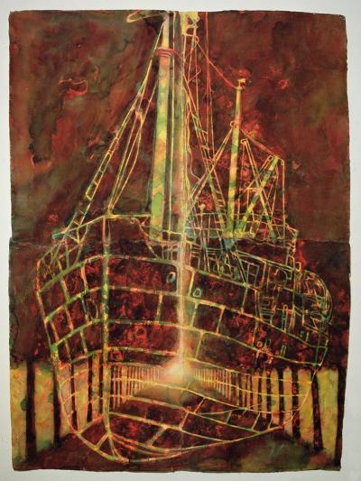 Boat 3, 2006-Graham Dean-Giclee Print