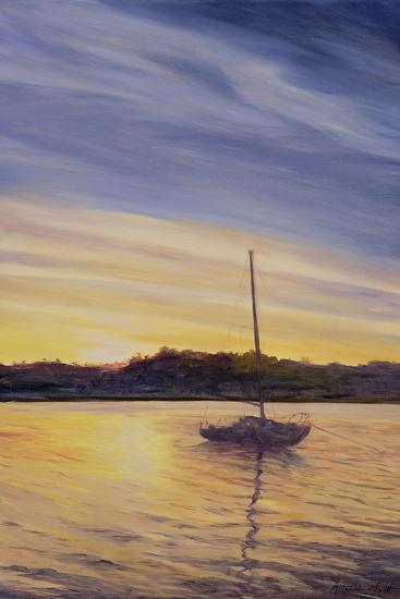 Boat at Rest, 2002-Antonia Myatt-Giclee Print