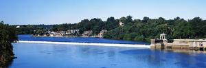 Boat House Row and Fairmount Water Works, Philadelphia, Pennsylvania, USA