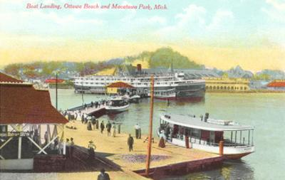 Boat Landing, Macatawa Park, Michigan