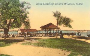 Boat Landing, Salem Willows, Mass.