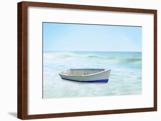 Boat on a Beach I-James McLoughlin-Framed Art Print