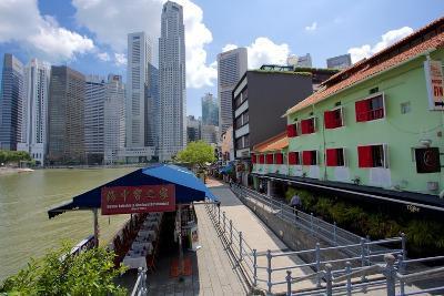 Boat Quay, Singapore, Southeast Asia-Frank Fell-Photographic Print