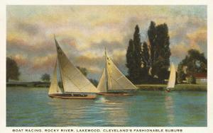 Boat Racing, Lakewood, Ohio
