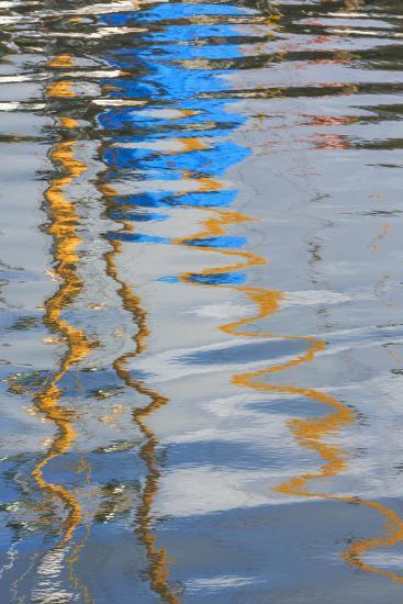 Boat Reflection I-Kathy Mahan-Photographic Print