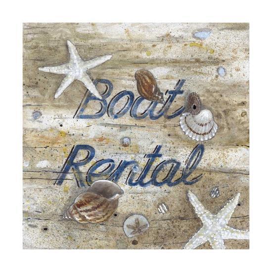 Boat Rental-Arnie Fisk-Giclee Print