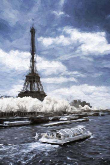 Boat Trip - In the Style of Oil Painting-Philippe Hugonnard-Giclee Print
