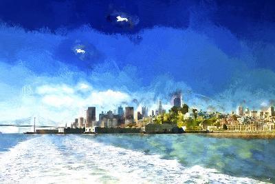 Boat Trip San Francisco-Philippe Hugonnard-Giclee Print