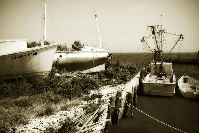Boat Yard II-Alan Hausenflock-Photographic Print
