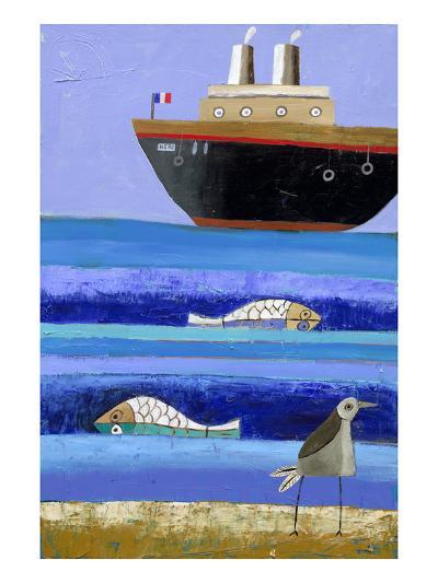 Boat-Nathaniel Mather-Premium Giclee Print