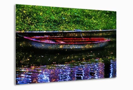 Boat--Metal Print