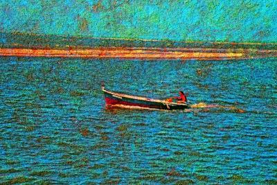 Boat-Andr? Burian-Photographic Print
