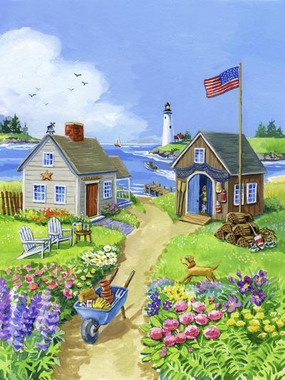Boathouse Cove-Geraldine Aikman-Giclee Print