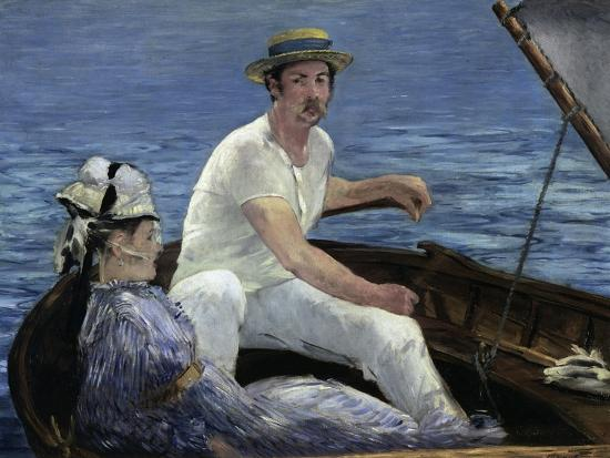 Boating, 1874-Edouard Manet-Giclee Print
