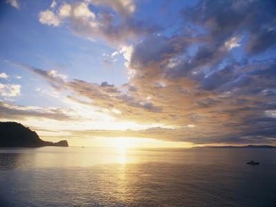 Boating Under Sunset in the Gulf of Nicoya-Macduff Everton-Photographic Print